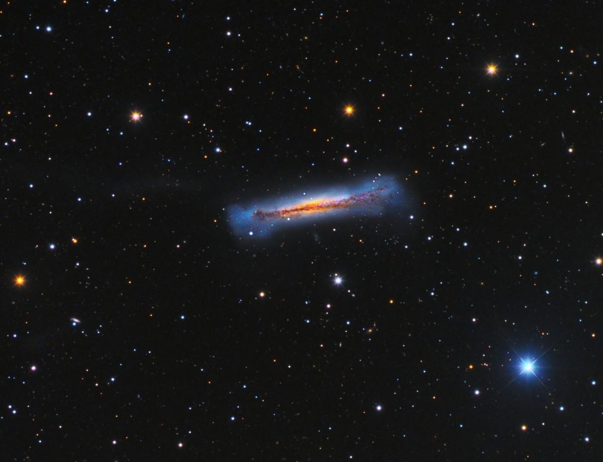 NGC3628 - Hamburgher Galaxy