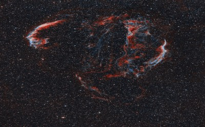 The Veil Nebula (Ha & OIII)