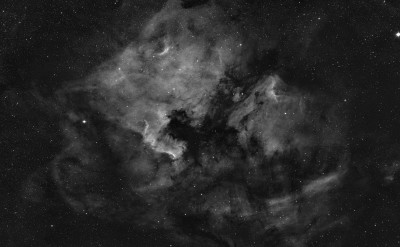 North America and Pelican Nebula wide field